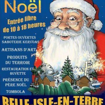 Dimanche 4 décembre 2016 : marché de noël à Belle isle en Terre