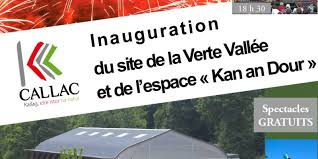 inauguration de l'espace Kan an Dour à Callac