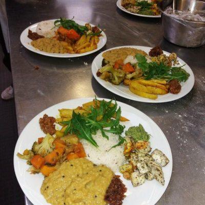 assiette ayurvédique